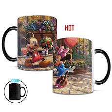 TK Disney Mickey & Minnie Sweetheart Café Heat-Sensitive Morphing Mug