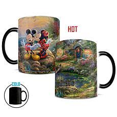 TK Disney Mickey & Minnie Sweetheart Cove Heat-Sensitive Morphing Mug