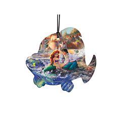 TK Disney Shaped Acrylic Hanging Print - The Little Mermaid