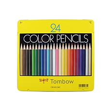 Tombow 1500 Series Colored Pencils 24-pack