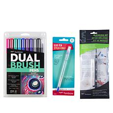 Tombow Galaxy Pens Blending Kit 3-piece Bundle