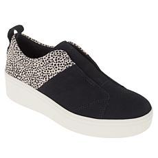 TOMS Amber Leather Slip-On Platform Sneaker