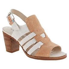 TOMS Majorca Woven Leather Caged Sandal
