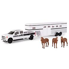 Tomy Ford F-350 Pickup with Horse Trailer