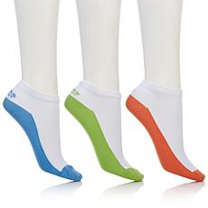 Tony Little Cheeks® Barefoot Ultralight Sock 3-pack