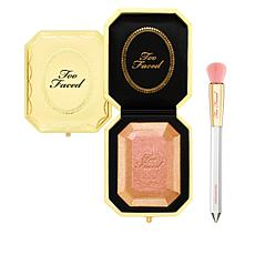 Too Faced Canary Diamond Diamond Light Highlighter and Brush Set