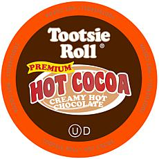 Tootsie Roll Premium Creamy Hot Chocolate K-Cup Pods 40-Count