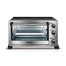 Toshiba 6-Slice Convection Toaster Oven - Stainless Steel
