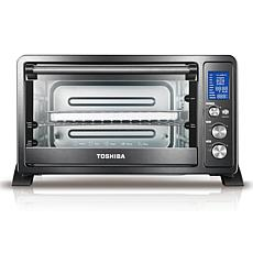 Toshiba Digital Convection Toaster Oven - Black Stainless