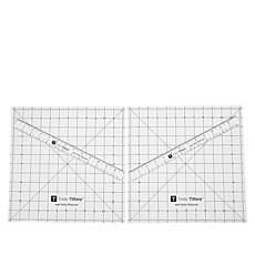 Totally-Tiffany Magnetic Design Mat and Ruler 4-piece Set