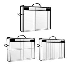 Totally-Tiffany Storage and Supply Case Bundle with Dividers