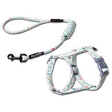 Touchcat Radi-Claw Durable Cable Cat Harness and Leash Combo