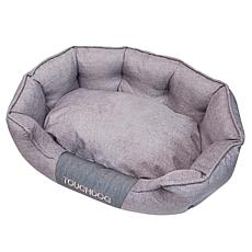 Touchdog Concept-Bark Water-Resistant Premium Oval Dog Bed