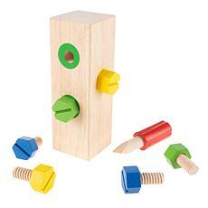 Toy Time Screw Block Toy Set