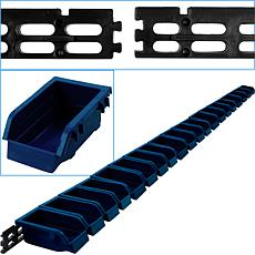 Trademark Tools Wall-Mounted Parts Rack with 20 Bins