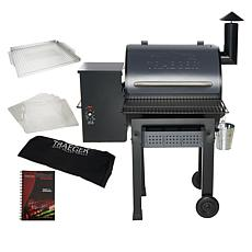 Traeger 520 sq. in. Heartland Wood Fired Grill & Smoker w/Accessories