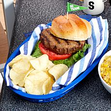 Tramonte's Signature Spice 12-count 6 oz. Burgers with Pepper Jack