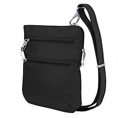Travelon Classic Anti-Theft Slim Double Zip Crossbody