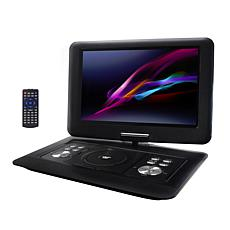 Trexonic 14.1 Inch Portable DVD Player with Swivel TFT-LCD Screen a...