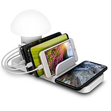 Trexonic 3-in-1 Desk Organizer with Wireless Charging Station and R...