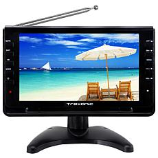 "Trexonic Ultra Lightweight Rechargeable Widescreen 9"" Portable LCD ..."