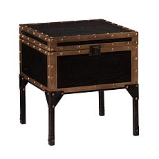 Trravel Trunk End Table