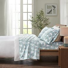 True North by Sleep Philosophy 100% Cotton Flannel Queen Sheet Set