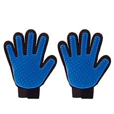 True Touch Deshedding Glove Set of 2