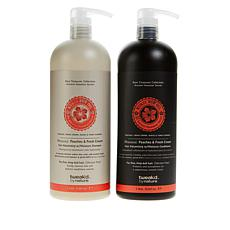 Tweak'd by Nature Supersize Shampoo & Conditioner - Peaches & Cream
