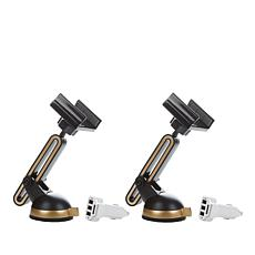 U-Grip Universal Cell Phone Grip Mount 2-pack