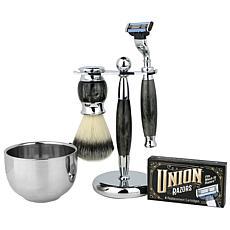 Union Razor Gift Set - Pearl Grey