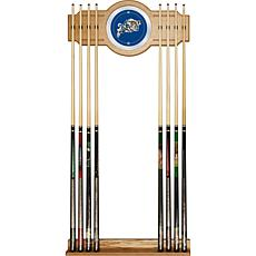 United States Naval Academy Wood and Mirror Wall Cue Rack