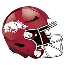 University of Arkansas Helmet Cutout