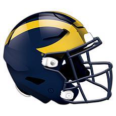 University of Michigan Helmet Cutout