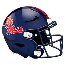 University of Mississippi Helmet Cutout