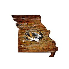 University of Missouri Distressed State with Logo