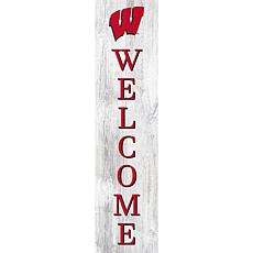 """University of Wisconsin 48"""" Welcome Leaner"""
