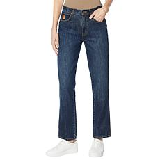 Vanderbilt Jeans Nico High-Rise Straight-Leg Jean