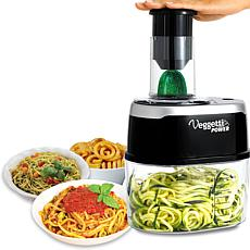 Veggetti Power Deluxe 6-in-1 Electric Spiralizer