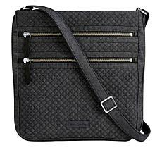 Vera Bradley Iconic Triple-Zip Hipster Bag