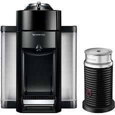 Vertuo Coffee   Espresso Single-Serve Machine in Piano Black and Ae...