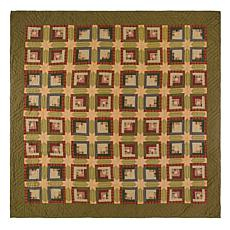 VHC Brands Tea Cabin Quilt - Queen