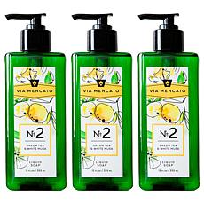Via Mercato Liquid Soap Set of 3