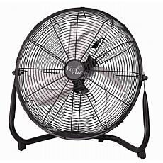 Vie Air 14 Inch Industrial High Velocity Heavy Duty Metal Floor Fan...