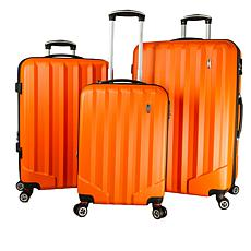 Villagio Radiance Hardside 3-piece Luggage Set