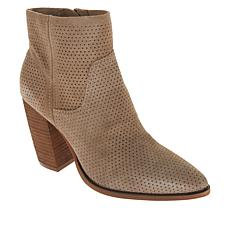 Vince Camuto Cava Perforated Suede Ankle Bootie