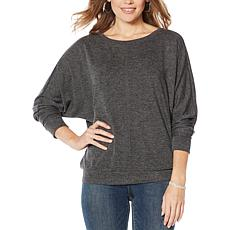 Vince Camuto Dolman-Sleeve Cozy Top