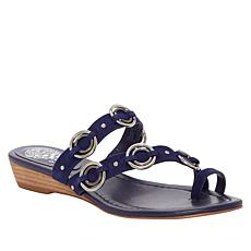 Vince Camuto Isley Leather Demi-Wedge Sandal