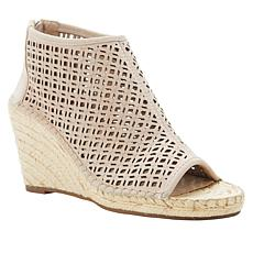 Vince Camuto Lereena Leather Espadrille Wedge Shootie