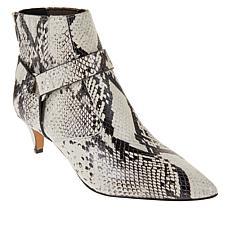 Vince Camuto Merrie Leather Ankle Bootie